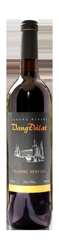 Vang Đàlạt Classic Special Red Wine