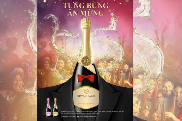 Chateau Dalat Sparkling Wine – Champagne của người Việt