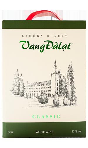 Hộp Vang 3 Lít – Classic White Wine