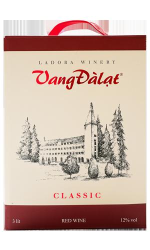 Hộp Vang 3 Lít – Classic Red Wine