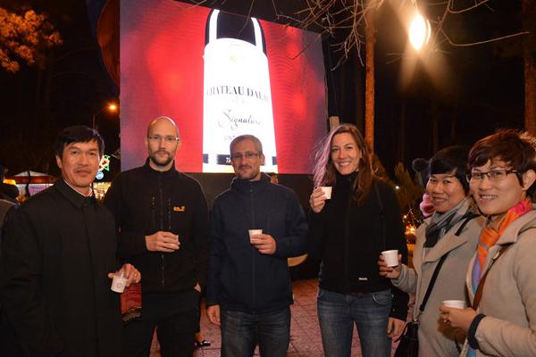 1.000 lít rượu vang được phục vụ trong 'Đêm hội Vang Đà Lạt'